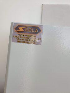 SECLA : impression d'étiquette publicitaire